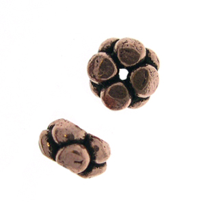 AF Copper Bead 19 - 8x5mm, Antique Finish (10)