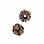 AF Copper Bead 20 - 7x6mm, Antique Finish (10)