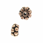 AF Copper Bead 37 - 4x8mm, Antique Finish (25)
