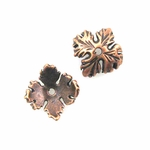 AF Copper Bead Cap 05 - 10mm, Antique Finish (12)