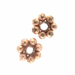 B Copper Bead 16 - 5mm, Bright (25)