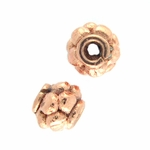 B Copper Bead 20 - 7x6mm, Bright (10)