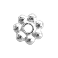 Bali-Style Brite 5mm Daisy Spacers (25pk)