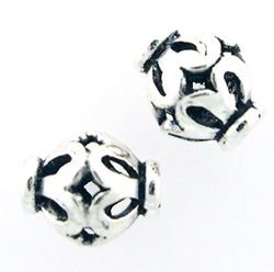 Bali-Style Sterling  Silver Bead 07 (10)
