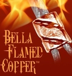 Bella Flamed Copper Twisted Tornado Crimp .024  (25)