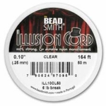 Clear Illusion Cord .010, 50 meters - closeout