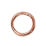 Copper Closed Jump Rings 6mm (50)