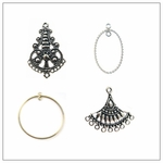 Chandelier Earrings and Earring Components