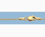 14k Gold Filled Ball Chain 1mm 20 inch Finished Chain Necklace
