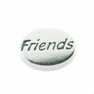 Friends Message Bead