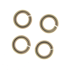 Gold-Filled Snapeez 10mm Jump Rings (10)