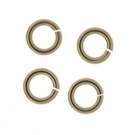 Gold-Filled Snapeez 8mm Jump Rings (25) Snapping Jump Rings