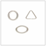 Jump Rings, Oval Jump Rings, Triangle Jump Rings