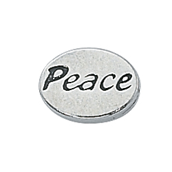 Peace Message Bead