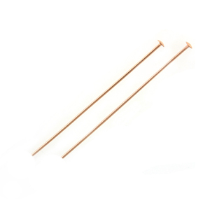Rose Gold-Filled Headpins - 24GA, 1.5 inch (10)