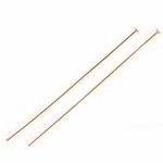 Rose Gold-Filled Headpins - 24GA, 2 inch (10)