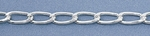 Silver-Filled Curb Chain 006 - 8.5mm x 3.7mm