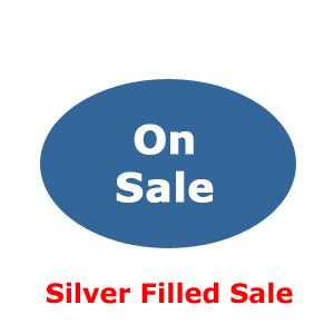 Silver Filled Findings and Chain on Sale