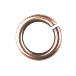 Snapeez II Ultraplate 10mm Jump Rings - Flamed Copper (10)