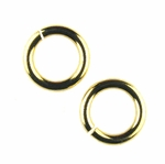 Snapeez II Ultraplate 12mm Jump Rings - 24 kt. Pure Gold (6)