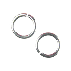 Snapeez II Ultraplate 12mm Jump Rings - 99.9% Pure Silver (6)