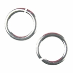 Snapeez II Ultraplate 14mm Jump Rings - 99.9% Pure Silver (6)