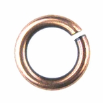 Snapeez II Ultraplate 14mm Jump Rings - Flamed Copper (6)