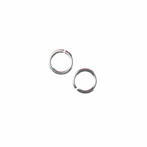 Snapeez II Ultraplate  4mm Jump Rings - 99.9% Pure Silver (25)
