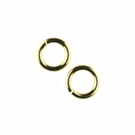 Snapeez II Ultraplate 6mm Jump Rings - 24 kt. Pure Gold (25)