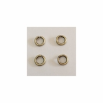 Snapeez II Ultraplate 6mm Jump Rings - Brass - 25 pc