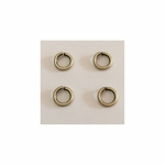 Snapeez II Ultraplate 8mm Jump Rings - Brass -  25 pc