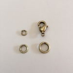 Snapeez Snapping Jump Rings - Brass - Brasseria *new color*