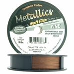 Soft Flex Wire, .014 Dia, 100 Feet, 21 Strand, Copper