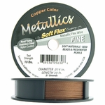 Soft Flex Wire, .014 Dia, 30 Feet, 21 Strand, Copper