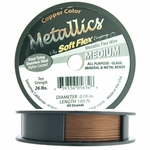 Soft Flex Wire, .019 Dia, 100 Feet, 49 Strand, Copper