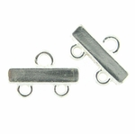 Sterling Silver Multi Strand End 2 to 1 Reducers per piece