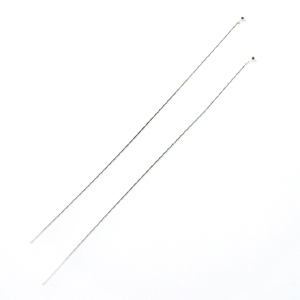 Sterling Silver Ball Headpins 24 gauge 1.5 Inch 25 pieces