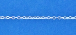 Sterling Silver Chain 2mm Flat Cable (323)