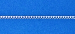 Sterling Silver Chain, Curb 2.3mm, by the Foot, ch781