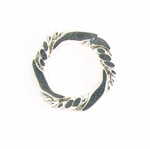 Sterling Silver Fancy 10mm Closed Ring/Link #92