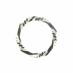 Sterling Silver Fancy 14mm Closed Ring/Link #13