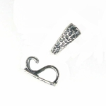 Sterling  Silver Fancy Enhancer Bail #3