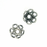 Sterling Silver Bali-Style Bead Cap 13, 12 pieces, overstock sale
