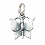 Sterling Silver Butterfly Charm
