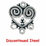 Sterling Silver Chandelier Earring Component 33 discontinued by vendor