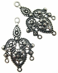 Sterling Silver Chandelier Earring Component 8