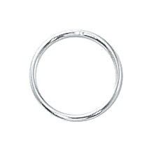 Sterling Silver 10mm Closed Jump Rings 20ga  (25pc) ee