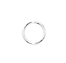 Sterling Silver Closed Jump Rings 6mm 20ga (25)