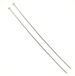 Sterling Silver Headpins 22 gauge, 1.5 inches, Bulk Pack, Wholesale prices
