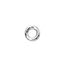 Sterling Silver Heavy (18ga) Closed Jump Rings 4mm (25) *new*